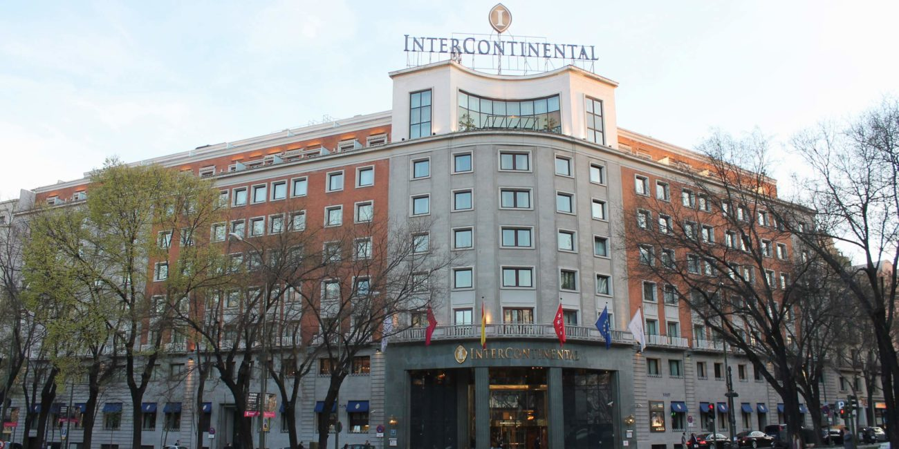 Hotel-InterContinental - Madrid