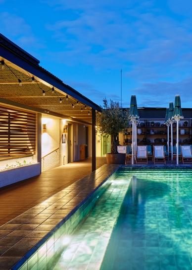 hotel 1882 piscina